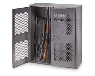 Sheet Metal Gun Locker
