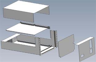 Sheet Metal Enclosure Diagram